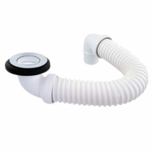 PVC Plug Flex Dinger Bath Kit POP UP Chrome Surface PD-14947