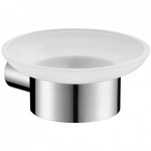 Wall Mounted Soap Dish Holder Chrome