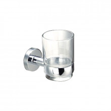 Tumbler Holder Set with Round Bracket Chrome
