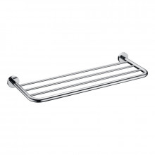 Round Angle Towel Rack Wall Mounted Chrome