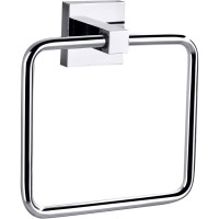 Rectangle Hand Towel Holder Chrome