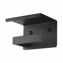 Ottimo  Nero Black Toilet Paper Holder