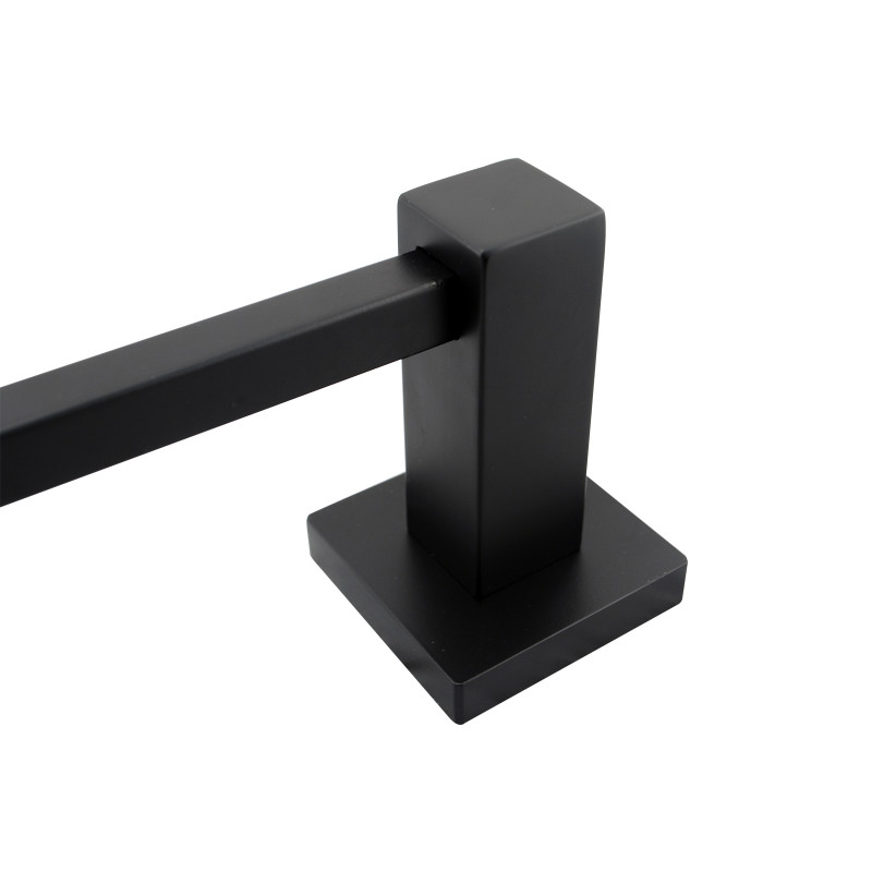 Ottimo Nero Black Towel Holder 250mmAC6303B