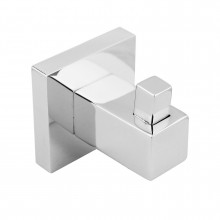 Ottimo Square Chrome Robe Hook Stainless Steel Wall Mounted