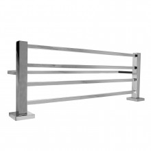 Ottimo Chrome Towel Rack 600mm Stainless Steel Wall Mounted