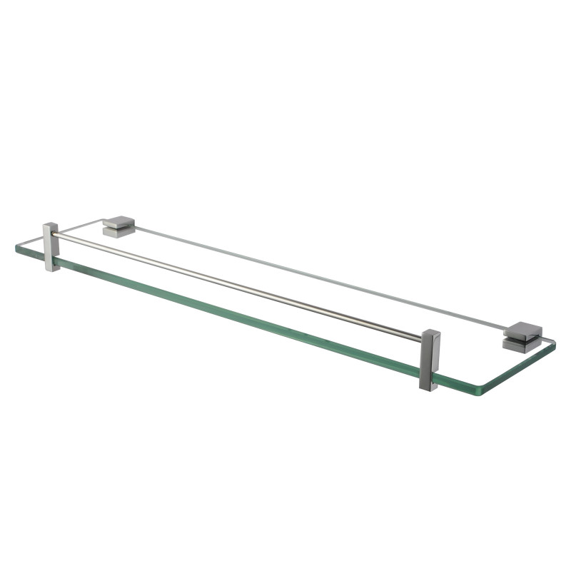 Ottimo Chrome Glass Shelf Holder 500mmAC6314