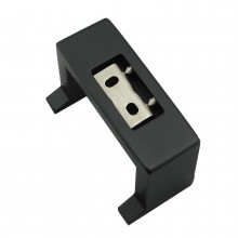 Omar Square Black Robe Hook Stainless Steel Wall Mounted
