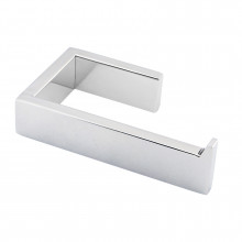 Square Chrome Toilet Paper Holder Stainless Steel