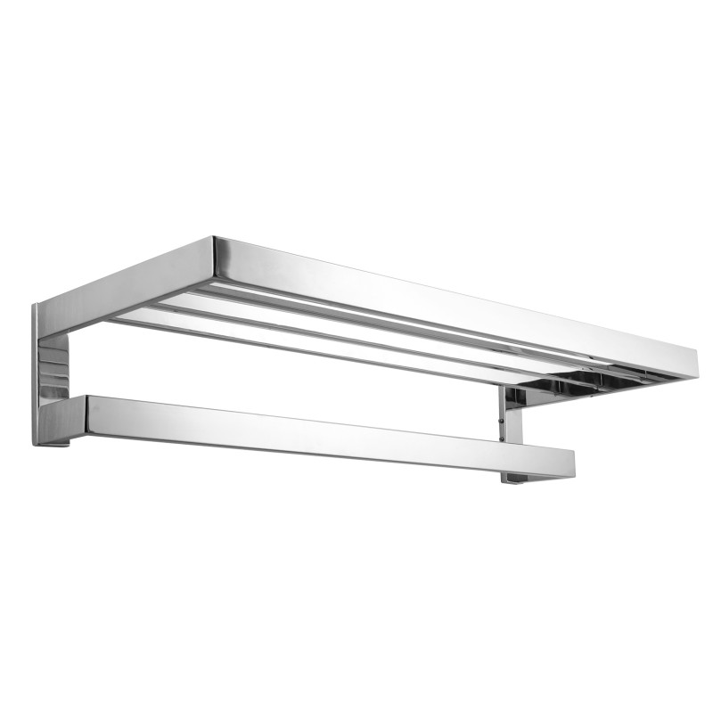 Omar Chrome Double Towel Holder 600mm AC6409