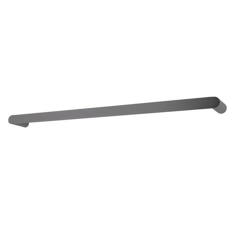 Gunmetal Grey Single Towel Rail 800mm Stainless Steel 304 Wall Mounted AC6501-8GMG