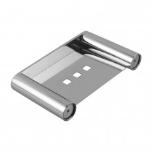 Chrome Soap Dish Holder Stainless Steel Wall Mounted