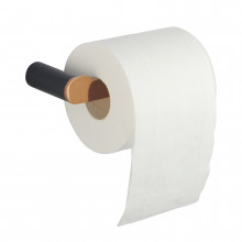 Black & Rose Gold Toilet Paper Holder Stainless Steel 304 Wall Mounted