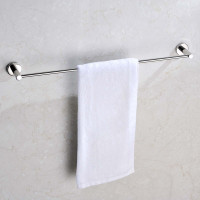 Euro Pin Lever Round Chrome Single Towel Rack Rail 790mm CUT TO SIZE