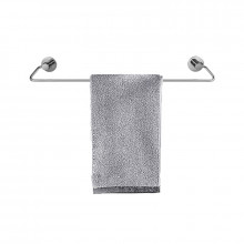 Zevi 600mm Self Adhesive Chrome Single Towel Rail Stainless Steel 304 Wall Mounted Drill Free