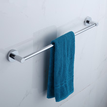 Euro Pin Lever Round Chrome Single Towel Rack Rail 900mm CUT TO SIZE Stainless Steel 304