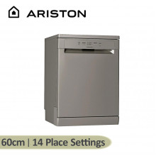 Ariston 60cm 14 Place Setting Freestanding Dishwasher with Touch Control