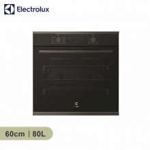 Electrolux 60cm 80L Build-in Dark Stainless Steel 8 Multifunction Oven