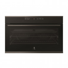 Electrolux 90cm 125L Build-in Black Multifunction Pyrolytic Oven
