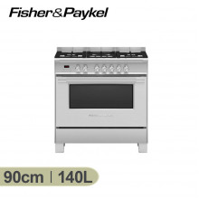 Fisher & Paykel 90cm Freestanding Dual Fuel Cooker