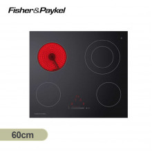 Fisher & Paykel 60cm Black Glass Electric Ceramic Cooktop