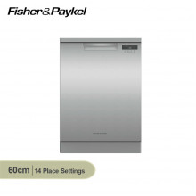 Fisher & Paykel 60cm 14 Place Setting Stainless Steel Freestanding Dishwasher