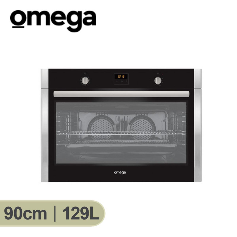 Omega 90cm 9 Function Electric Wall Oven SAH-OBO960X
