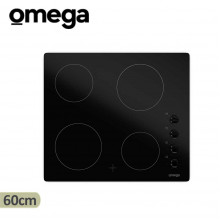 Omega 60cm 4 Zone Ceramic Electric Cooktop