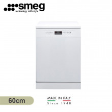Smeg 60cm 14 Place Setting White Freestanding Dishwasher