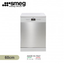 Smeg 60cm 14 Place Setting Stainless Steel Freestanding Dishwasher