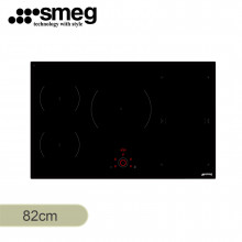 Smeg 82cm Built in Black Ceramic Cooktop