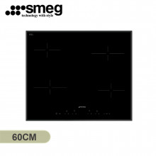 Smeg 60cm 4 Zone Black Ceramic Cooktop with Bevelled Edge