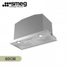 Smeg 60cm Undermount Stainless Steel Rangehood
