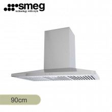 Smeg 90cm Wallmount Stainless Steel Rangehood