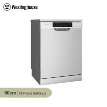 Westinghouse 60cm 15 Place Setting Active Dry Stainless Steel Freestanding Dishwasher