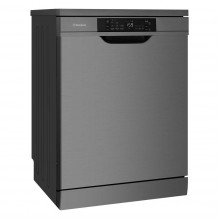 Westinghouse 60cm 15 Place Setting Freestanding Dark Stainless Steel Dishwasher with SensorWash
