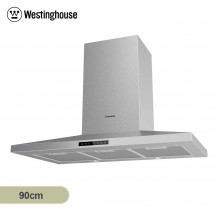 Westinghouse 90cm Stainless Steel Wall Mounted Canopy Rangehood with Electronic Touch Control