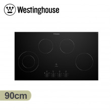 Westinghouse 90cm 4 Zone Ceramic Cooktop with Knob Control