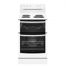 Westinghouse 54cm 80L freestanding cooker with coil hob and fan forced oven