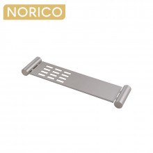 Norico Esperia Brushed Nickel Towel Shelf Stainless Steel Wall Mounted
