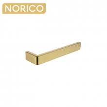 Norico Cavallo Square Brushed Yellow Gold Towel Holder 255mm Stainless Steel 304 Wall Mounted