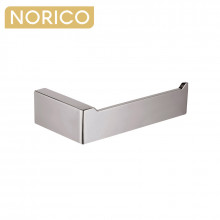 Norico Cavallo Square Brushed Nickel Toilet Paper Holder Stainless Steel 304 Wall Mounted