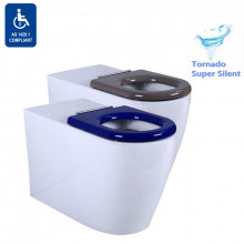795x355x425mm Asta Special Care Tornado Flush Toilet Pan Back To Wall S TRAP P TRAP Single Flap Care Seat