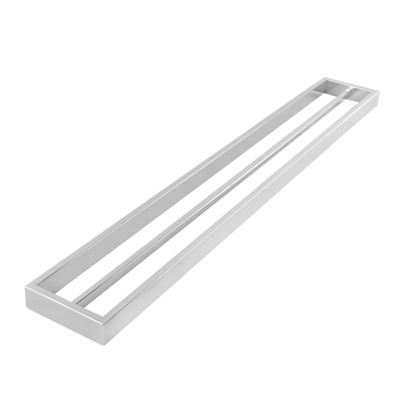 Omar Chrome Double Towel Rail 800mm AC6402-8