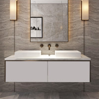 1500mm Domain Wall Hung Floating Bathroom Vanit..