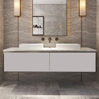 1800mm Domain Wall Hung Floating Bathroom Vanit..