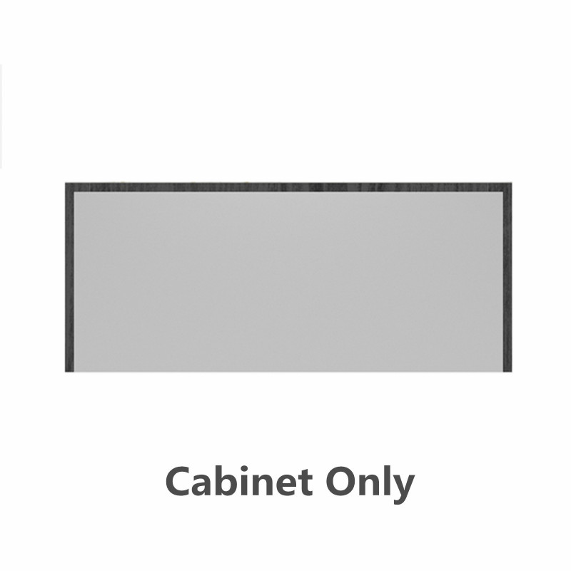900mm Matt White Wall Hung Bathroom Vanity with Wood Stone Top and Drawers BL-KODO-900s