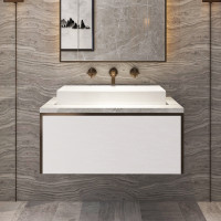 900mm Domain Wall Hung Floating Bathroom Vanity..