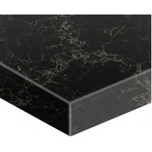 Stone top for above counter ceramic basins 750 / 900mm x460x40mm Marquina Vanilla Noir for Bathroom Vanity