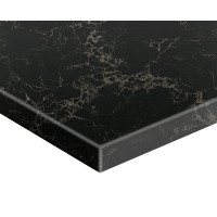 Stone top for above counter ceramic basins 600 750 900 1200 1500 1800mm x460x20mm Marquina Vanilla Noir