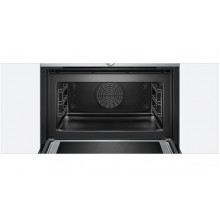 Bosch Serie 8 45cm Electric Compact Oven With 900W Microwave 45 Litres CMG633BS1B